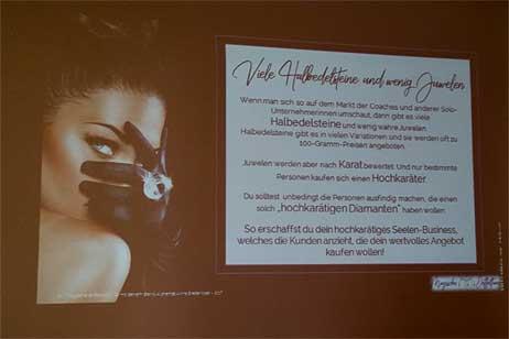 Impulsvortrag von Anna Breitenöder zum Unternehmernetzwerktreffen DResden