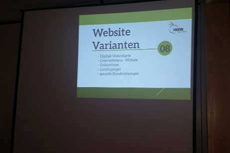 Erfolgreiche Websites für kleine und mittelständische Unternehmen, Vortrag von KERNgeschehen