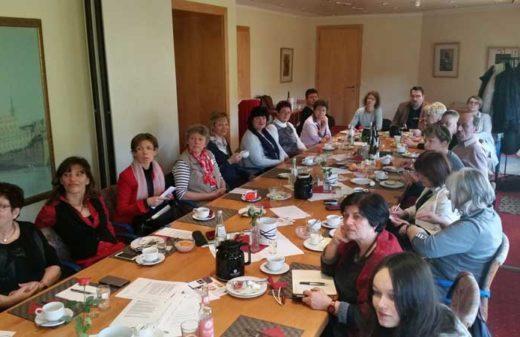 Unternernehmernetzwerk-Treffen REgioChance mit Impulsvortrag von Anna Breitenöder