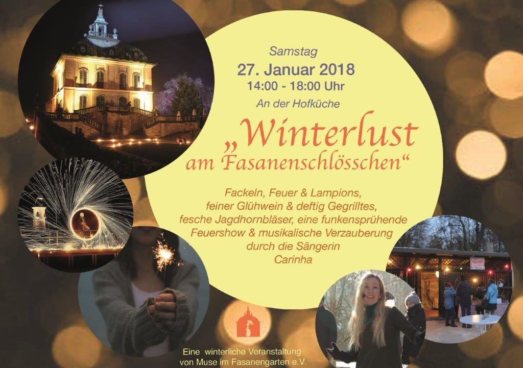 Winterlust am Fasanenschlösschen mit Renata Linne