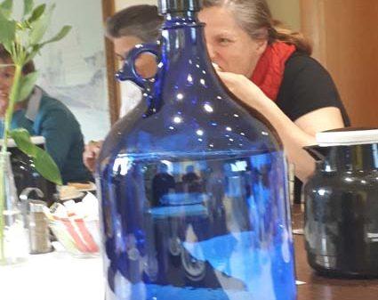Unternehmer-Netzwerk Dresden Vortrag Christine Herold Wasser