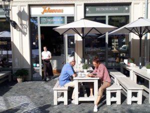 Unternehmernetzwerk RegioChance zu Gast im Johannas Colonialwaren Dresden auf dem Neumarkt